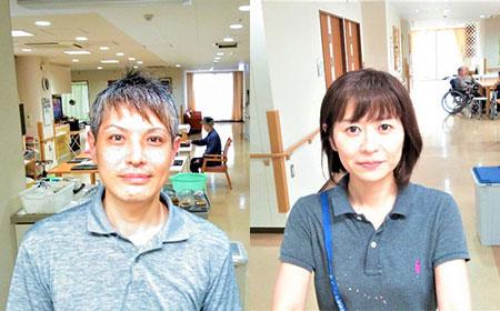 職員2人の画像